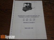 Gépkönyv EV-695 .... EV-720