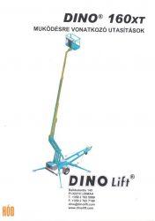 Gépkönyv DINO.160xt