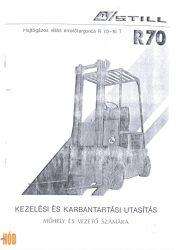 Gépkönyv Still R70-16T