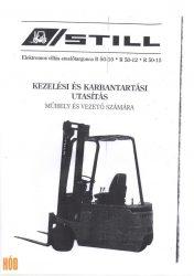 Gépkönyv Still R50-10, 12, 15