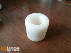 Görgő műanyag fehér 85 x 95 mm